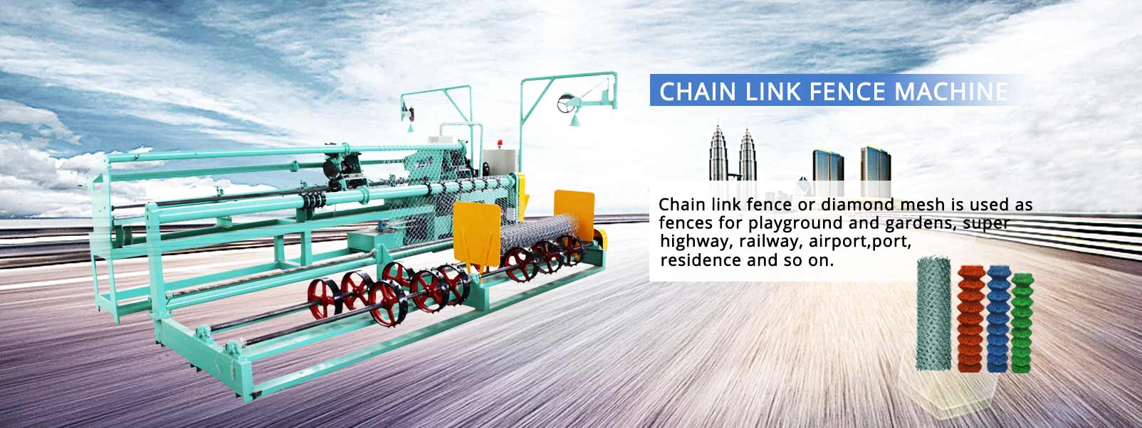 chain-link-fence-machine