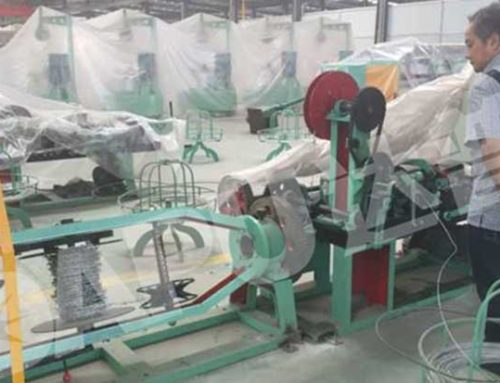 Indonesia Customers bought Barbed Wire Machine
